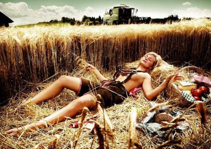 Секс в украинской деревне смотреть онлайн — 8