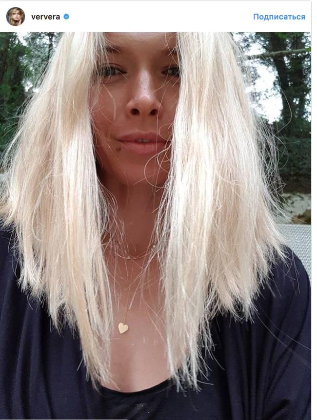35-летняя Вера Брежнева призналась, что совершенно не скучает по длинным волосам