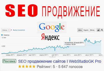 Seo продвижение сайта Хмельницкий